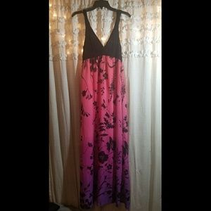 NEW without Tags V neckline beach MAXI dress